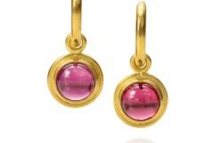 Rodelite Garnet Earrings