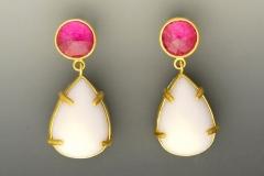 Peruvian Opal Earrings