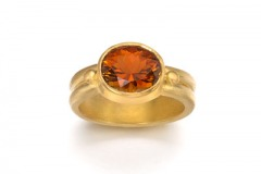 Cognac Tourmaline Ring