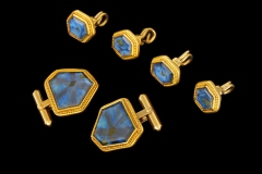 Sapphire Cuff Links